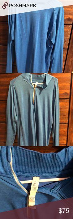 Lululemon men's half zip shirt Light weight men's half zip. Maybe worn once. lululemon athletica Shirts
