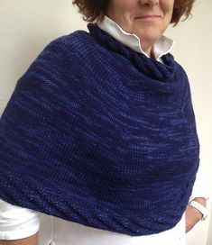 Navy is the New Black by Andra Asars, knit in Berroco Artisan
