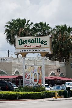 The famous Versailles Restaurant in Little Havana, Miami, Florida