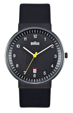 Men's Watch: Braun Gents BN-32BKBKG
