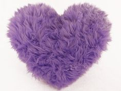 Lavender Faux Fur Heart Shaped Decorative Pillow Spring Easter Home Decor - Small Size Girls Bedroom, Bedroom Decor, Lilac Bedroom, Bedroom Ideas, Bedroom Designs, Animal Protection Organization, Purple Rooms, Habitat For Humanity, All Things Purple