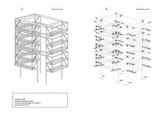 Panteon para un Ingeniero,Esquema Estructural