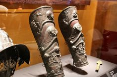 Gladiators helmet and shin guards | by mindset