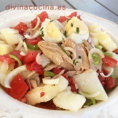 Patatas aliñadas » Divina CocinaRecetas fáciles, cocina andaluza y del mundo. » Divina Cocina