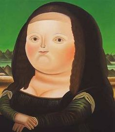 Mona Lisa, Age Twelve, Fernando Botero, How cute is this? Colombian Art, Mona Lisa, Illustration, Sculpture, Unique Art, Art Reference, Cool Art, Portraits, Photo And Video