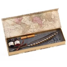 A quill pen set that any Harry Potter fan would be thrilled to bring with them once they get their Hogwarts letter.