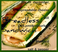 Cucumber Sandwiches – Weight Loss Plans: Keto No Carb Low Carb Gluten-free Weightloss Desserts Snacks Smoothies Breakfast Dinner… – Flexitarian Diet Cucumber Sandwiches, Healthy Sandwiches, Coleslaw, Lunch Recipes, Salad Recipes, Diet Recipes, Peanut Butter Diet, Quinoa, Gluten Free Weight Loss