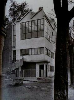 Le Corbusier | Maison Ozenfant, Avenue Reille, Paris France (1922)