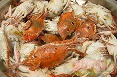 食指大動%Food-Funs: [食譜] 抓緊秋天的尾巴大啖秋蟹「清蒸三點蟹」之老饕們衝呀!