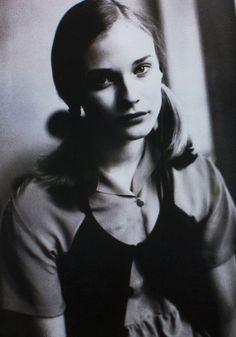 Diane Kruger by Dominique Issermann