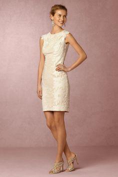 Ivory/petal Mercier Dress | BHLDN