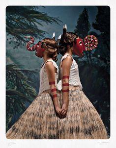 Jacqui Stockdale. 'Les Jumeaux' 2012 Type C Print 100 x 78cm
