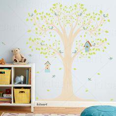 Adesivo Árvore Casinhas