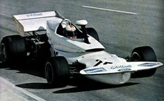 Rolf Stommelen in the Eifelland Type 21 at South African GP in 1972.  You'd never guess Eifelland made caravans, huh?