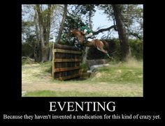 Okay, that's pretty funny | Eventing horse humor