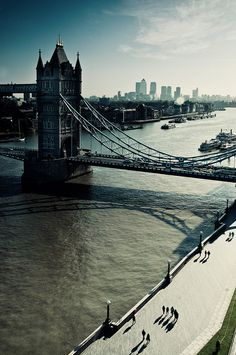 "London, England | ""The problem with the Southbank is the River Thames is just so dirty. On a sunny day it becomes a very yellowish brown, certainly not what you want in a color photo. I was at the top of City Hall on the Open House when I took this."" Martin Turner"