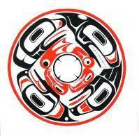 4 Haida Clans: Frog, Whale, Raven, Eagle