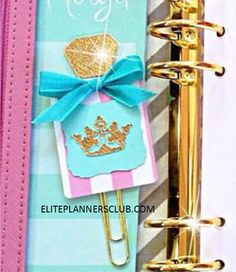 Planner agenda paperclips, planner paper clips, planner paperclips, pretty planner paperclips, pretty planner paper clips, planner bookmarks, pink planner paperclips, glitter paper clips - Elite Planners Club