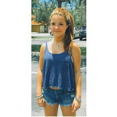 Julia Gomes, The Duff, Overall Shorts, My Girl, Overalls, Hair Color, Teen, Tank Tops, Hair Styles