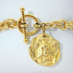 Lexi honeybee gold charm on chain