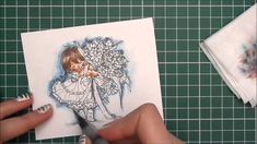 Inktense &  Watercolor pencils  Basics background Part 2 (+playlist)
