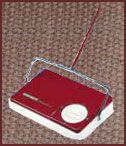 instead of vacuums for a quick job- Carpet Sweepers!! We had one!