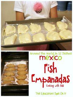 Making Fish Empanadas with Kids