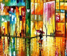 Leonid Afremov - pintura