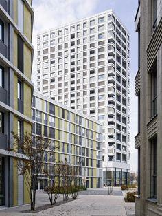 office winhov - Zölly residential tower