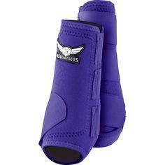 Trevor Brazile Relentless Cactus Gear All-Around Front Boots PURPLE