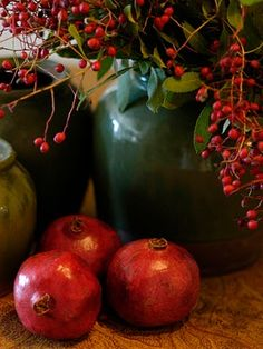 .Pommagranets - a Very old mid winter treat -available near the cradle of civilization