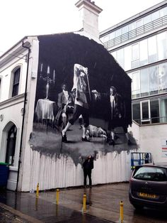 Morning Glory – Le street art par Conor Harrington | Ufunk.net