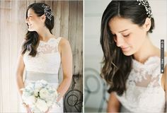 hair down with comb | CHECK OUT MORE IDEAS AT WEDDINGPINS.NET | #weddinghair