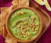 Avocado Hummus Recipe :: Fresh Hass Avocado Recipes