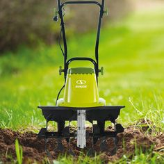 Dig it – and experience the one tiller that's truly up to the task! Introducing a greener, cleaner way to get dirty with the Sun Joe TILLER JOE Electric. Lush Garden, Lawn And Garden, Garden Tools, Electric Tiller, Power Tiller, Home Vegetable Garden, Weed Control, Outdoor Gardens, Minerals
