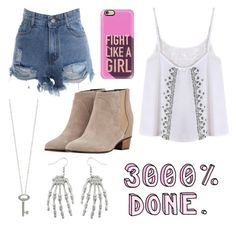 """""""Untitled #1770"""" by beau-4-ever ❤ liked on Polyvore featuring Casetify, Golden Goose and Roberto Coin"""