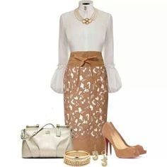 Class, neutral colors, bell sleeves
