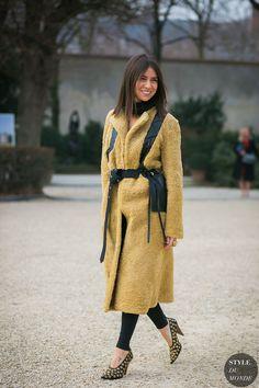 Haute Couture Spring 2017 Street Style: Natasha Goldenberg