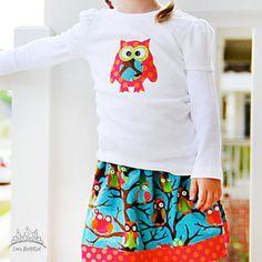 Cute owl skirt!