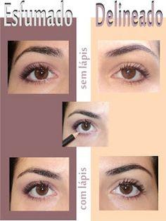 Fashion Girls: Maquiagem para olhos* *