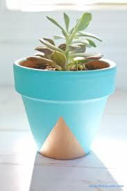 Hand Painted Flower Pots Patterns Google Search Creative Jenny - Diy two tone painted pots