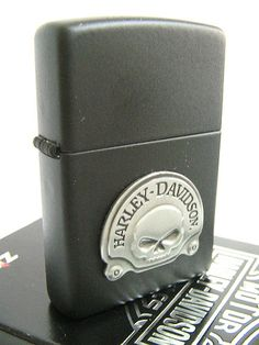 2007 Harley Davidson Zippo Lighter - Skull | Flickr - Photo Sharing!