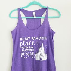 The perfect tank for you and your favorites! Want to save 10% on your order? You can purchase these on our website at a discounted price! Head to www.onceuponamickeytee.com  Ready to ship in 1-2 weeks.  HOW DOES IT FIT?---> These tanks are super soft and flowy, not at all clingy! For most people these run a size small so I suggest ordering a size up (sizes XS and S run closer to true to size though).  All shirts are screen printed by hand in my studio. They are made to order just for you…
