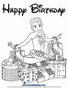Silver Cross Ring Sideways RiDisney Frozen Birthday Coloring Pages Elsa Loves Presents Page