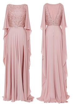 to make it modest, I would use the excess fabric on the sleeves to cover up the exposed back. Bridesmaid Dresses, Prom Dresses, Formal Dresses, Hijab Dress Party, Kebaya Dress, Muslim Dress, Indian Gowns, Muslim Fashion, Hijab Fashion