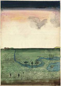 Saul Steinberg. Autogeografía, 1966  Cortesía de The Pace Gallery, New York © The Saul Steinberg Foundation / Artists Rights Society (ARS), New York