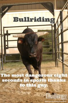 Professional Bull Riders, Inc in the June issue of Challenge Magazine.