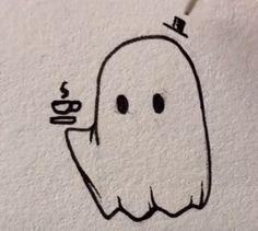 Cute Easy Drawings, Mini Drawings, Small Drawings, Cute Little Drawings, Art Drawings Sketches Simple, Pencil Art Drawings, Doodle Drawings, Dark Drawings, Tattoo Design Drawings