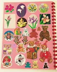 Lisa Frank RARE Vintage 80s Sticker Album with Stickers | eBay