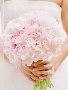 15 Peony Bouquet Ideas for Every Wedding Style | TheKnot.com